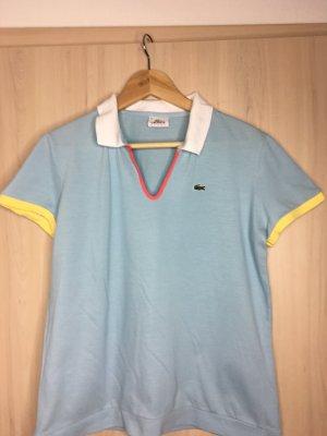 T-Shirt Lacoste Gr. 46 hell blau