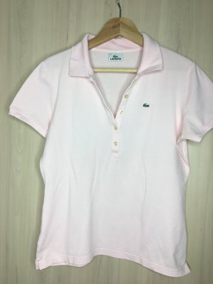 T-Shirt Lacoste Große 46 hell rosa
