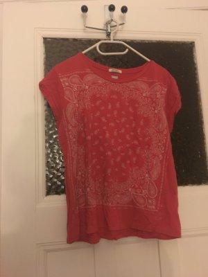 T-Shirt Levi's rot mit weißem Muster