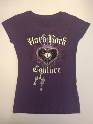 T-Shirt lila von Hard Rock Cafe, Gr. S