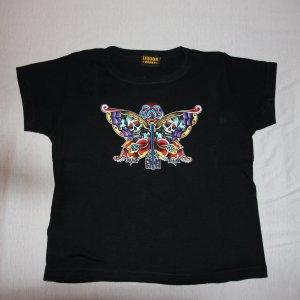 T-Shirt Liquor Brand Rockabilly Pin Up Schmetterling Gr. S