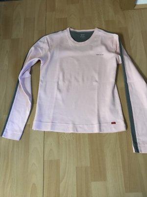 "T-Shirt m. Galonstreifen, Rose-grau Gr. S ""Esprit"""