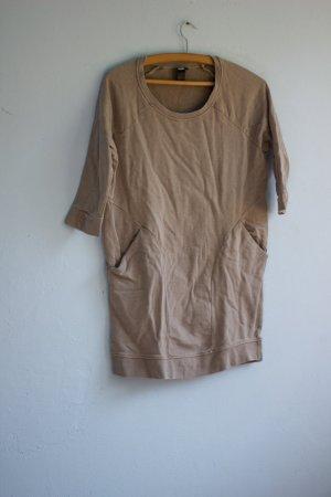 T-Shirt Minimalistisch H&M beige taupe 34
