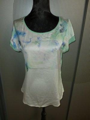 T-Shirt mint weiß Orsay
