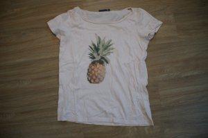 T-Shirt mit Ananas von minimum
