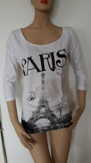T-Shirt mit Aufdruck in Gr. 40