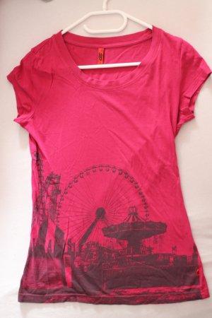 T-Shirt mit Aufdruck von s. Oliver