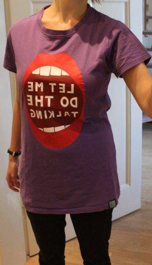 T-Shirt mit Aufdruck, Wemoto