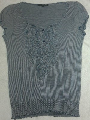 T-Shirt mit auffälliger Raffung, Tally Weijl, Größe S