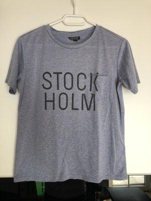 Topshop T-shirt azzurro