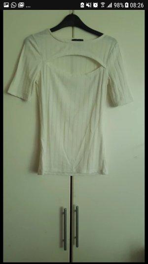 T-shirt mit Ausschnitt