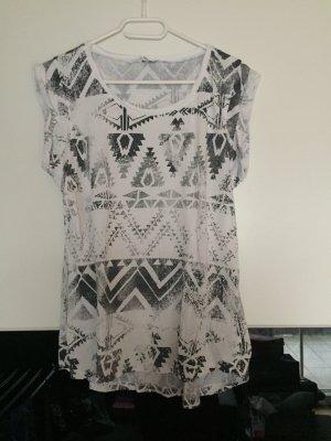 T-Shirt mit Aztekenmuster