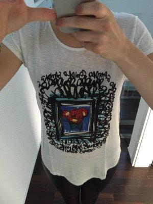 T-Shirt mit Bedruck von Sandro