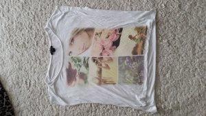 T-Shirt mit Bilder Print