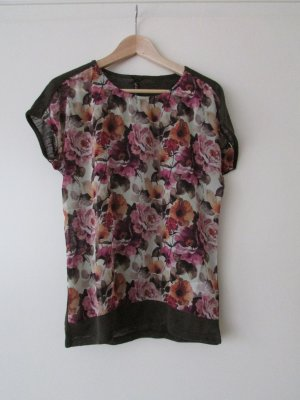T-Shirt mit Blumen, Gr. M, Key Largo Girls