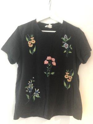 T-Shirt mit Blumen H&M S