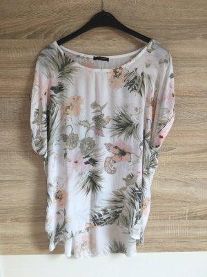 T-Shirt mit Blumen-Muster