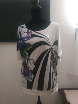T-Shirt mit Blumenmuster von Desigual
