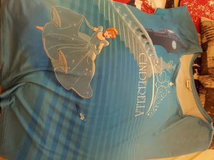 T-Shirt mit Cinderella Motiv