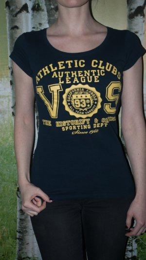 T-Shirt mit Collegedruck