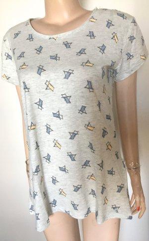 T-Shirt mit coolem Print Gr. M neu