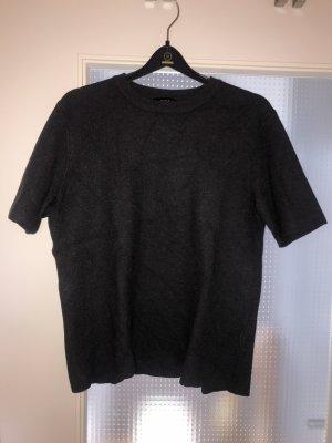 Zara T-shirt grigio scuro-antracite