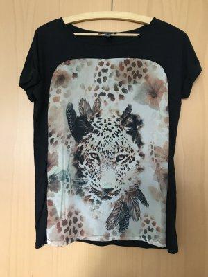 T-Shirt mit Druck von Mango in Größe M