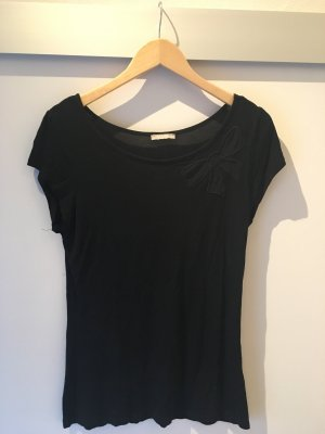 T-Shirt mit durchsichtiger Schleife in Größe M