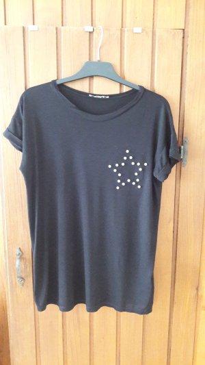"""T-Shirt mit einem Stern aus """"Perlen """""""
