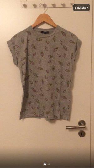 T-Shirt mit Eisdruck