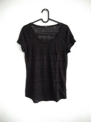 T-Shirt mit Ethno-Muster