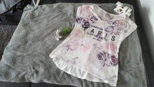 T- Shirt mit floralem Muster