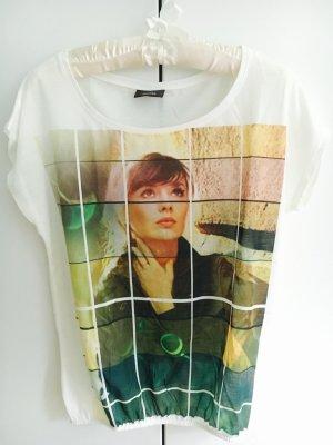 T-Shirt mit Frauenmotiv
