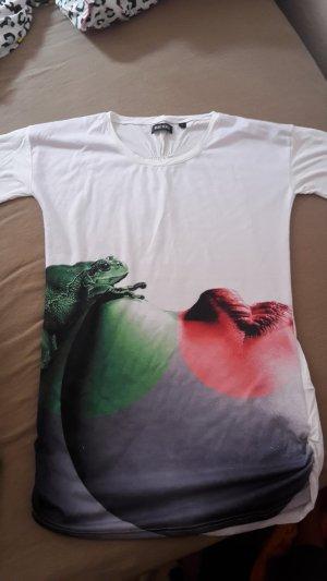 T-Shirt mit Frosch-Print
