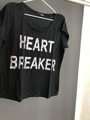 T Shirt mit Glitzer
