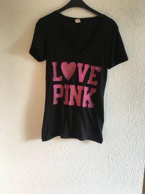 T-Shirt mit Glitzeraufdruck