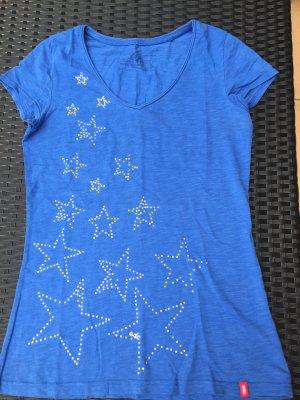 T-Shirt mit Glitzersternen