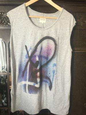 T Shirt mit Grafitti Print