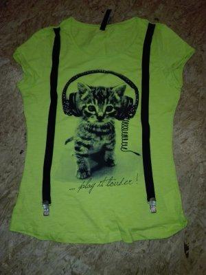 T-Shirt mit Hosenträger