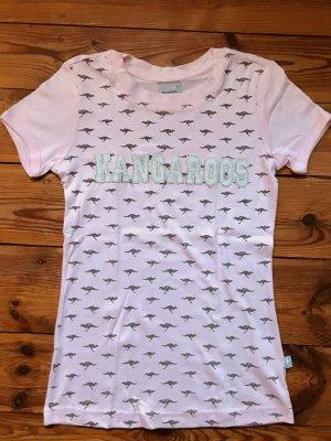 T-Shirt mit Kangaroo-Print