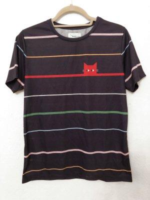 Twintip Camiseta multicolor Fibra sintética