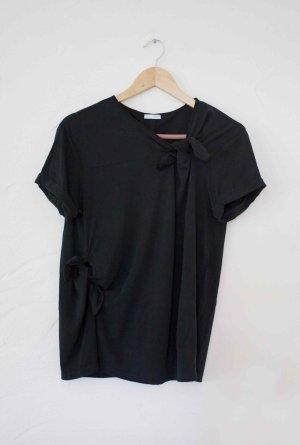 T-Shirt mit Knotendetails Zara