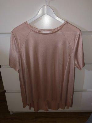 T-shirt mit leichtem Glitzer
