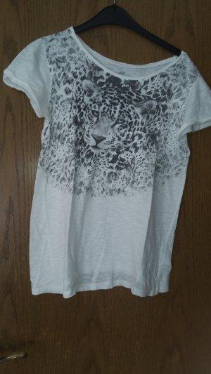 T-Shirt mit Leo-Print