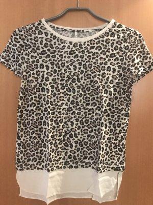 T-Shirt mit Leoprint