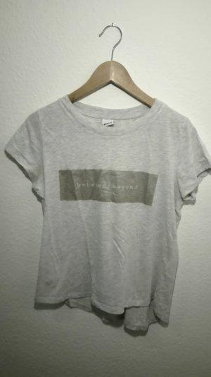 T-Shirt mit metallic Druck