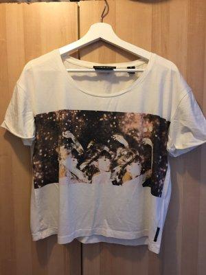 T-Shirt mit Motiv von Maison Scotch