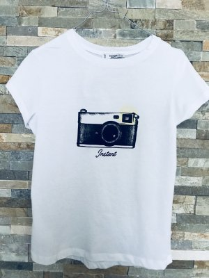 Mango T-Shirt white