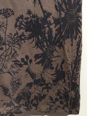 T-Shirt mit Muster und Nieten, von Hallhuber in xs