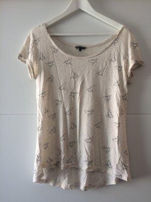 T-Shirt mit Origami-Muster, Größe 36